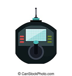 icon drone remote control graphic vector illustration eps 10