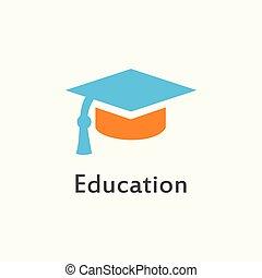 icon education flat style