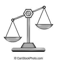 icon., escala, señal