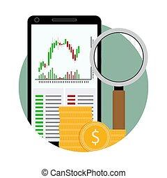 Icon exchange trading