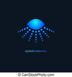 Icon eyelash extension salon - Logo eyelash extension salon,...