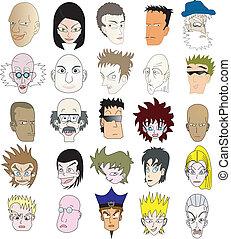 Icon faces