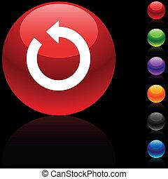 icon., felfrissít