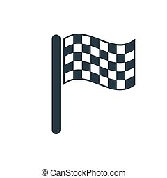 icon finish flags