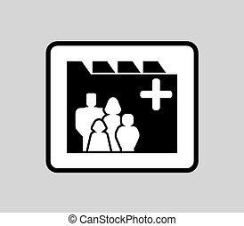 icon for patient medical record - black medicine industrial...