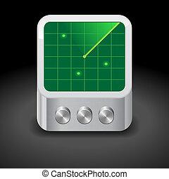 Icon for radar