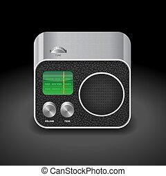Icon for radio