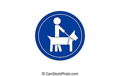 Icon guide dog