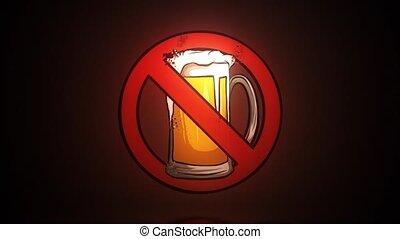 icon., háttér, sör, világos sör, beer., elszigetelt, pohár