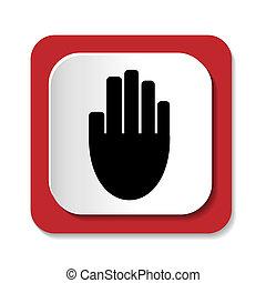 icon hand