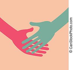 icon., handshake., empresa / negocio, transaction.