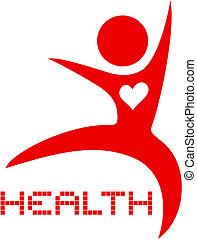 Icon health - Creative design of icon health