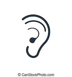 icon hearing ear