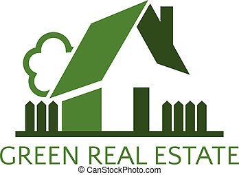 Icon house for real estate business. Vector illustration