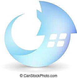 icon., house., vector.