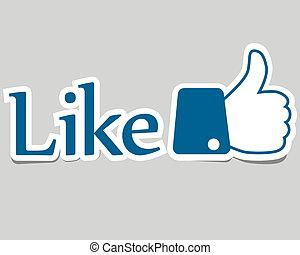 """Like - Icon """"Like"""""""