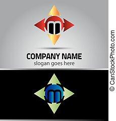 Icon M logo