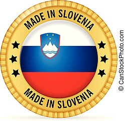 Icon made in Slovenia