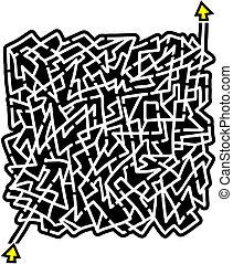 Icon maze