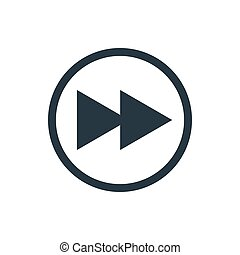 icon media fast rewind