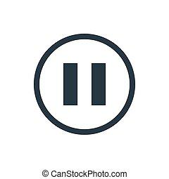 icon media pause
