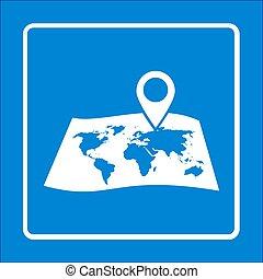 icon., navigazione, segno
