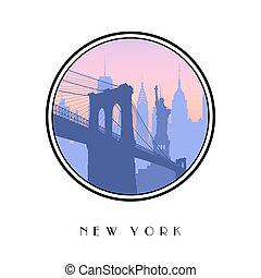 Icon New York city