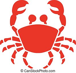 Icon of a crab