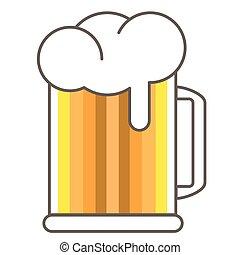 Icon of beer mug