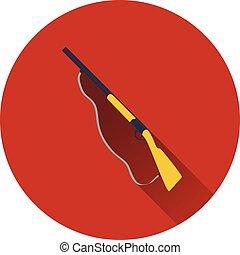 Icon of hunting gun