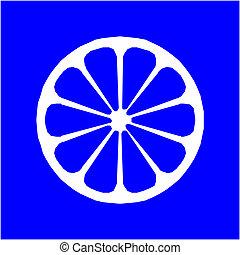 Icon of lemon fruit