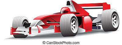 Icon of motor-car - Vector illustration of a sport-car