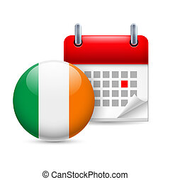 Icon of National Day in Ireland