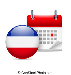 Icon of National Day in Yugoslavia