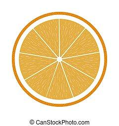 Icon Of Orange In Ui Colors