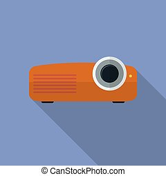 Icon of Projector, Flat style