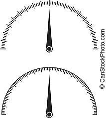 Icon of speedometer