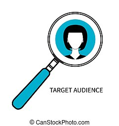 Icon of target audience