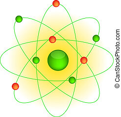 Icon of the atom