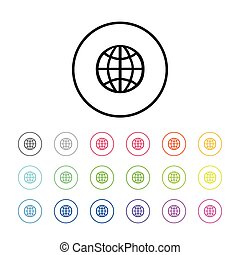 Icon of World