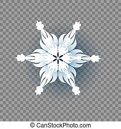 Icon on transparent background