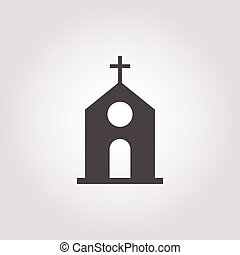 icon on white background