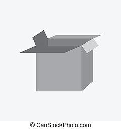 Icon open box