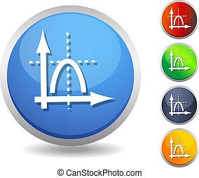 Icon-Performance Graph - Illustratio