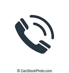icon phone tube call