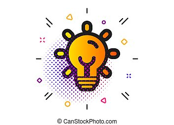 icon., power., tegn., lightbulb, energi, elektriske, vektor