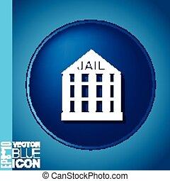icon prison. symbol of justice . police icon
