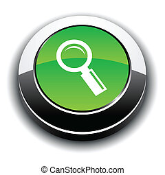icon., procurar, metálico