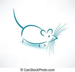 icon., ratón