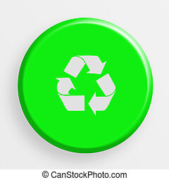icon recycle button